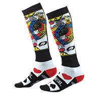 O Neal Pro Mx Kingsmen Socks White Black Red