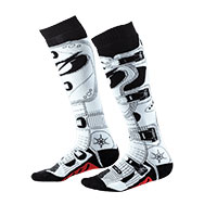 O Neal Pro Mx Rdx Socks Black White