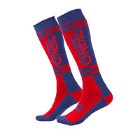 O Neal Pro Mx Two Face Socks Blue Red