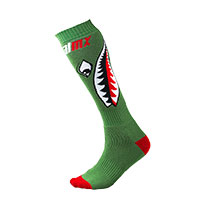 O Neal Pro Mx Bomber Socks Green Kid