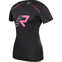 Rukka Alexa Underwear Black Pink T-shirt Ladies