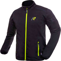 Rukka Allan Softshell Jacket Black Yellow