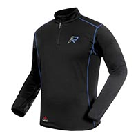 Rukka Kim Outlast Fleece Zip Shirt blau schwarz