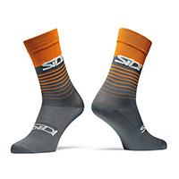 Sidi Miami Socks Grey Orange