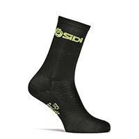 Sidi Pippo 2 Socks Black Yellow Fluo