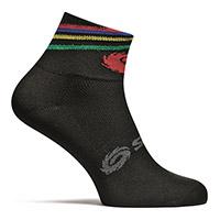 Sidi Rainbow Socks Black
