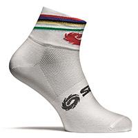 Sidi Rainbow Socks White