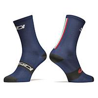 Sidi Trace 15cm Socks Blue Black