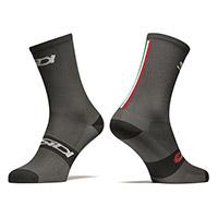 Sidi Trace 15cm Socks Grey Black