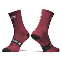 Sidi Trace 15cm Socks Red Black