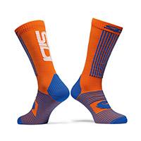 Sidi X-race Socks Orange Blue