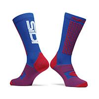 Sidi X-race Socks Blue Red