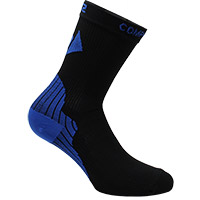 Six2 Active Socks Black Blue