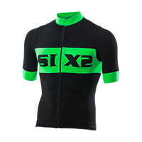 Six2 Bike Jersey Maniche Corte Luxury