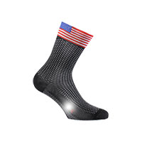 Six2 Flags Short Socks Usa