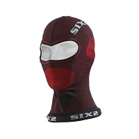 Six2 Sous-casque Carbon Underwear X-mix Dbx Rouge