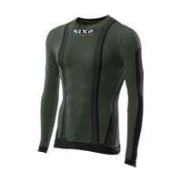 Six2 Girocollo Maniche Lunghe Carbon Underwear Ts2 4stagioni