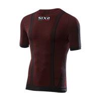 Six2 Girocollo Maniche Corte Carbon Underwear Ts1 4stagioni