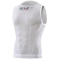 Camisa sinmangas Niños SIX2 K SMX blanca