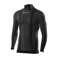 Six2 Col Roulé Thermo Carbon Underwear Warm Hiver