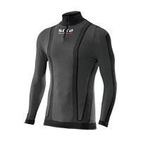 Six2 Maglia Lupetto Con Zip Maniche Lunghe Carbon Underwear Ts13 4stagioni