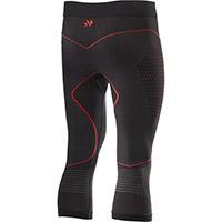 Pantaloni Termici Six2 Pncw Blazefit Nero Rosso