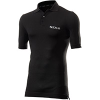 Six2 Polo T-shirt Black