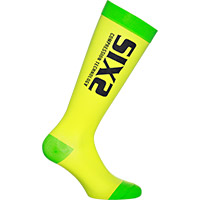 Six2 Recovery Socks Yellow Green