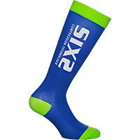 Six2 Recovery Socks Green Blue