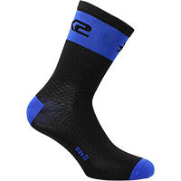 Six2 Short Logo Socks Blue