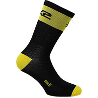 Six2 Short Logo Socks Yellow