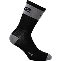 Six2 Short Logo Socks Grey