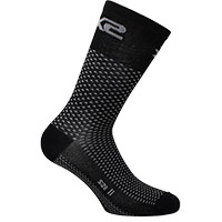 Six2 Short Logo Socks Black