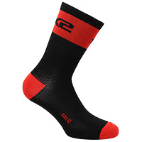 Six2 Short Logo Socks Red