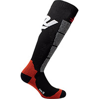 Six2 Speed2 Socks Black Red
