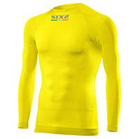 Camiseta manga larga SIX2 TS2 4SEASONS amarilla