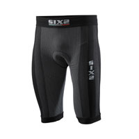 Six2 Biker Shorts With Butt-patch 4seasons