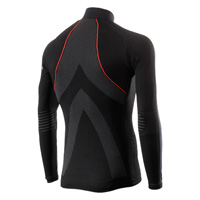 Six2 Wind Jersey Wt Shirt Black