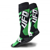 Ufo Offroad Short Socks Black Green