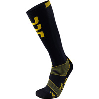 Uyn Ski Evo Race Socks Black Yellow