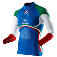 X-bionic Energy Accumulator® Evo Patriot Edition Shirt Long Sleeves Italia