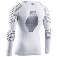 Camiseta X-Bionic Invent 4.0 Winter LS blanco