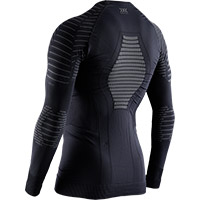 Camiseta X-Bionic Invent 4.0 Winter LS negra