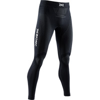 Pantaloni X-bionic Invent Run 4.0 Speed Nero