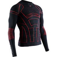 X-bionic Moto Energizer 4.0 Lg Ls Shirt Red