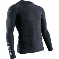 X-バイオニックモトエナジャイザー 4.0 LT ロングスリーブ シャツ ブラック