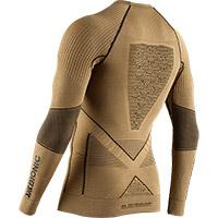 Camiseta X-Bionic Radiactor 4.0 Winter dorado